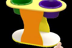 Столик для ігор з водою та піском 750х400х570 мм