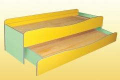 Ліжко 2-ярусне 1435х649х585 мм