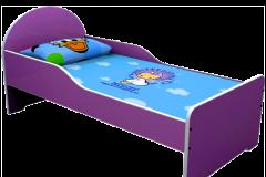 Ліжко дитяче кольорове 1436х636х615