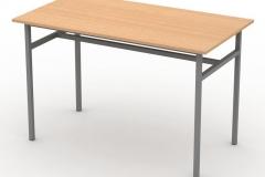 Стіл обідній з пластиковою стільницею 4-місний 2 1200х600х760 мм