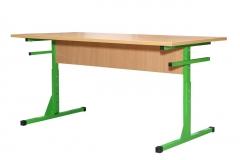 Стіл обідній з пластиковою стільницею 6-місний 1500х600х760 мм
