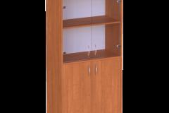 Шафа для документів з скляними дверями 2 640х320х1490 мм
