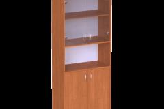 Шафа для документів з скляними дверями 640х320х1850 мм