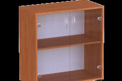 Шафа для паперів з скляними дверями 640х320х765 мм