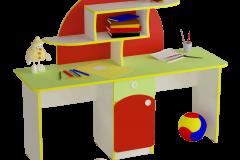Столик для образотворчого мистецтва Веселка 1400х450х1100 мм